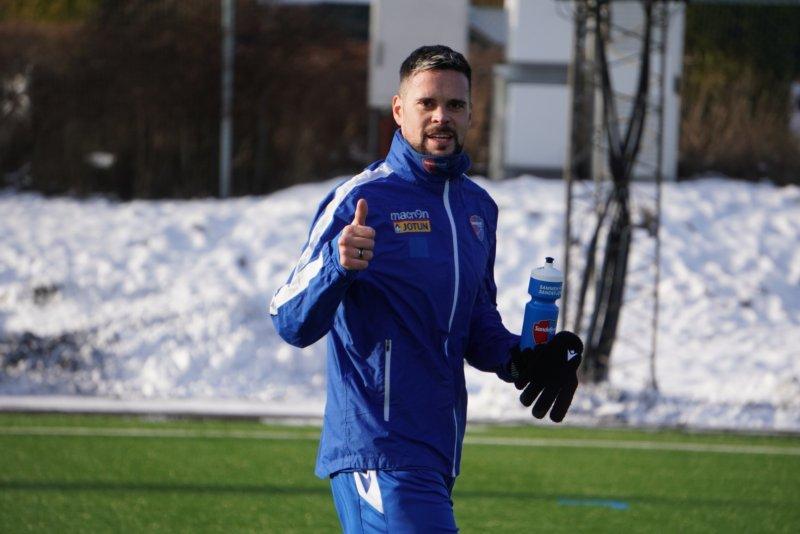 Marc Vales er godt fornøyd med situasjonen i klubben og gleder seg til veien videre.