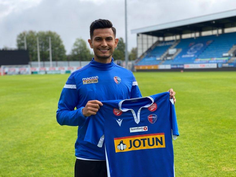 Deyver Vega klar for Sandefjord Fotball
