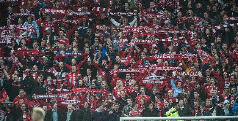SNART FULLT: Det nærmer seg utsolgt til 16. mai kampen på Brann Stadion. (Foto: Astrid M. Nordhaug/ Digitalsport)