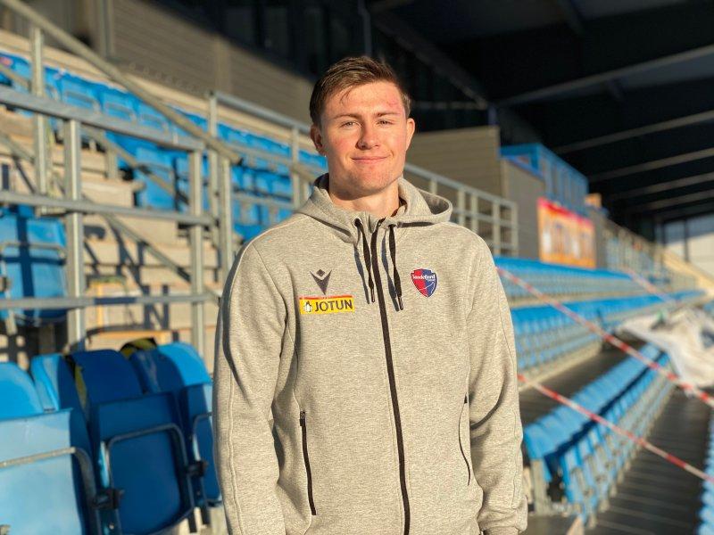 Herman Solberg Nilsen har signert en ny kontrakt med SF