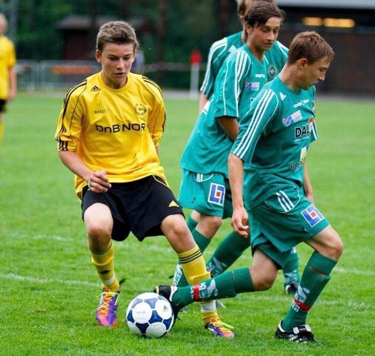 William Kurtovic startet fotballkarrieren i moderklubben Sandefjord Ballklubb.