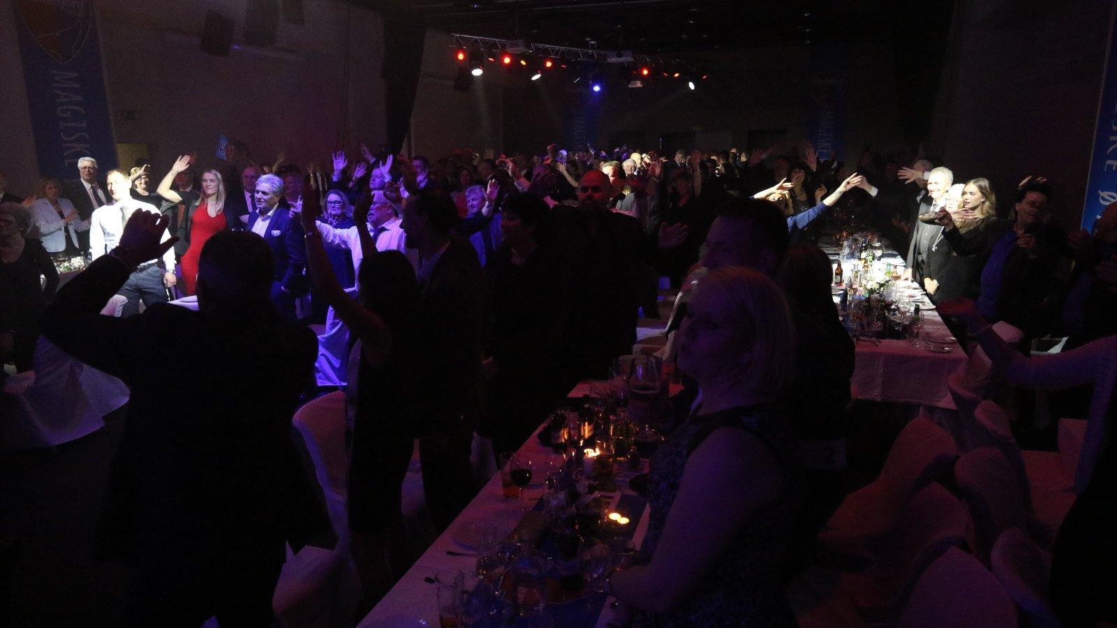 SF AWARDS: Strømstad Spa fylt opp med SF-venner. (Foto: Torstein Flåm)