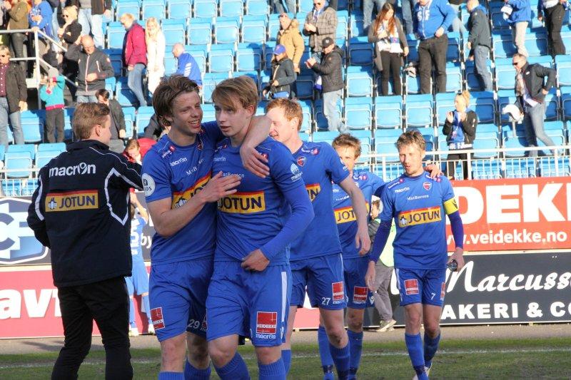 FRAM: Varg Støvland lånes ut til Fram. (Foto: Torstein Flåm)